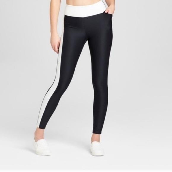 a9bedb7c63398 Joy Lab Pants   Joylab Leggings With White Stripe   Poshmark